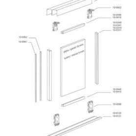 SYSTÈME ACIER MERISIER-detail technique